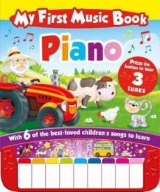 My First Piano Book with keyboard @ WHSmith Was £14.99, Now £.5.99 Free C&C