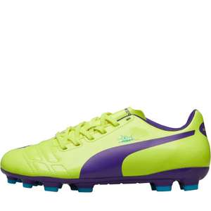 Kids Puma Football Boots; UK sizes 11.5, 13, 2.5, 3.5, 4, 5, 5.5, 6 (£4.99 shipping or free with Premier)