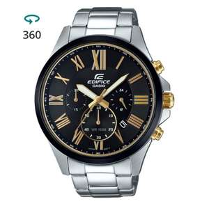 Casio Edifice EFV-500DB-1AVUEF £80 with code @ Watch Shop. Free Click and Collect