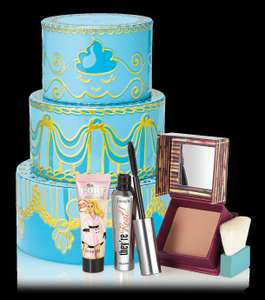Benefit Gift Set (worth £57.50) with Full Sized Holla Bronzer & They're Real Mascara, and travel Porefessional at Debenhams for £21.67