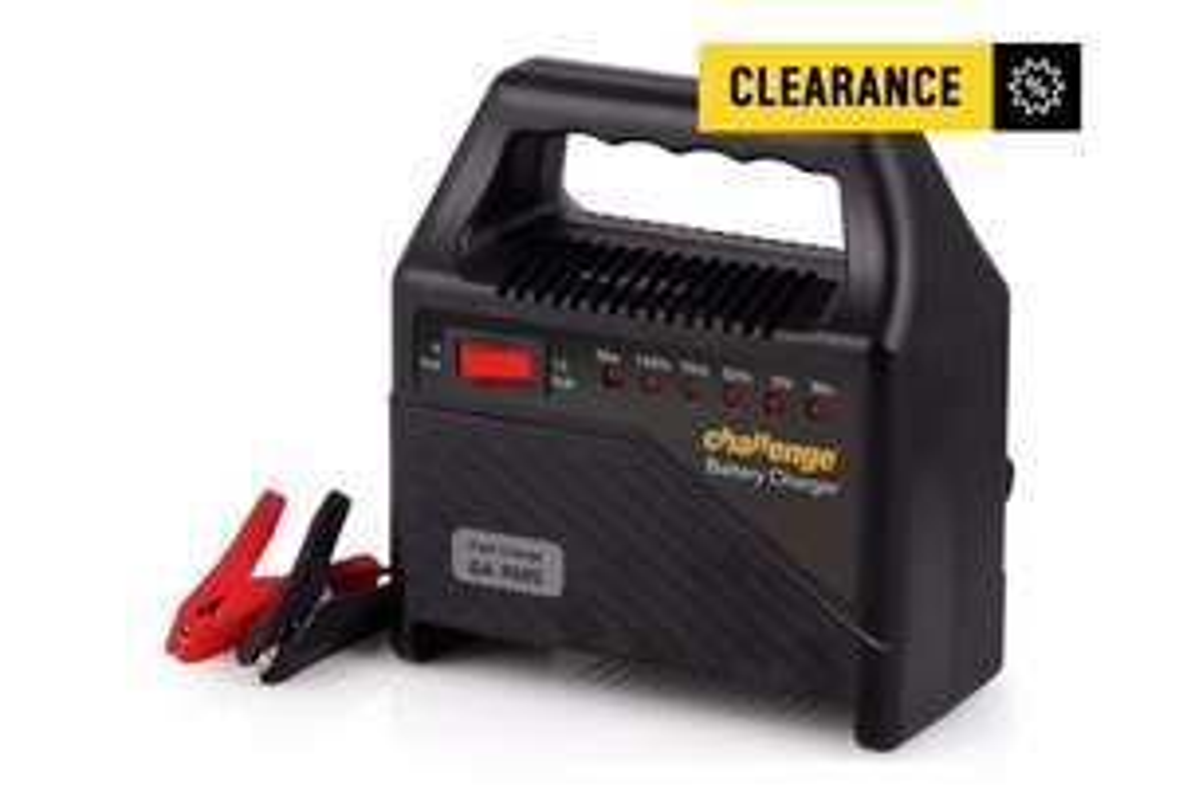 Challenge 12V Trickle Car Battery Charger at Argos for £12.99