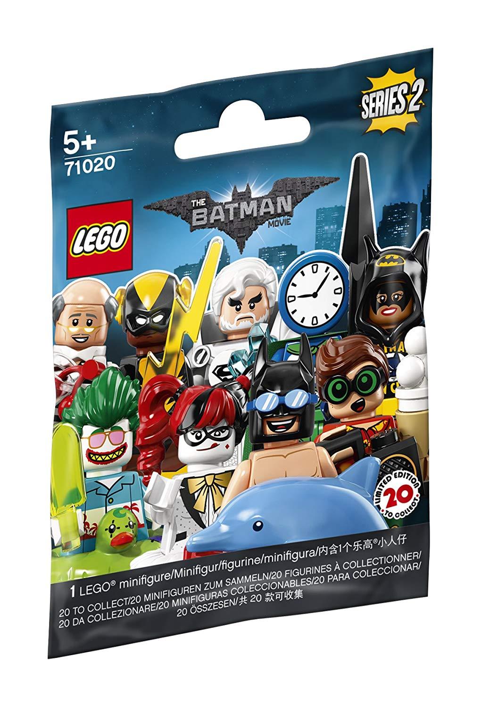 LEGO The Batman Movie Series 2 Mini Figures £0.99 Each @ Amazon Add On Item