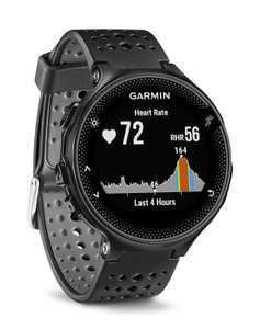 Garmin Forerunner 235 GPS Running Watch with Elevate Wrist Heart Rate and Smart Notifications, Black/Grey £175 @ Amazon