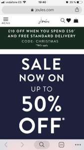 Joules - up to 50% off