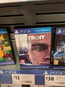 Detroit become human  in Morrisons £12