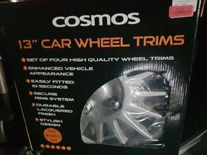 "Cosmos 13"" Car Wheel Rims TK MAXX Peterborough £2"