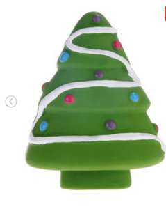 Dogs toy Christmas tree £1.49 + £5 delivery@ ToyPlus