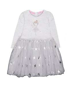 Grey fairy twofer dress from Mothercare