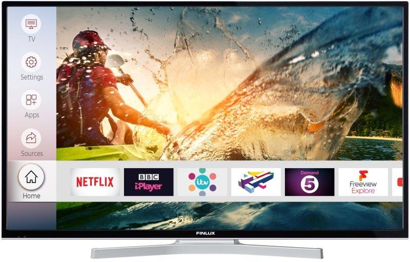 "Finlux 55"" 4K Ultra HD HDR Smart TV, £369.99 at Ebuyer"
