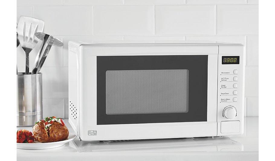 Digital Microwave - White or Black colour  Was £44.00 Now £40.00  @ George Asda