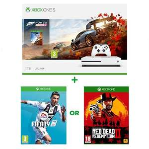 Xbox one s 1TB + Forza horizon 4+ selected game £199 delivered @smyths