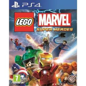 LEGO Marvel Super Heroes PS4 @ The Game Collection £10.95