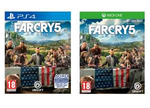 Far Cry 5 (PS4 / Xbox One) for £21 @ George (Free C&C)
