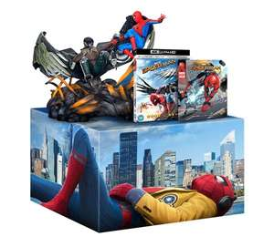 Spider-Man: Homecoming (Limited Edition 4K Ultra HD +Figurine +Comic) [UHD] £52.50 w/code @ Zoom