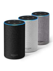 Amazon Echo (2nd Gen) Heather Grey / Charcoal / Sand £54.99 Free delivery @ Currys & Argos (Free C&C)