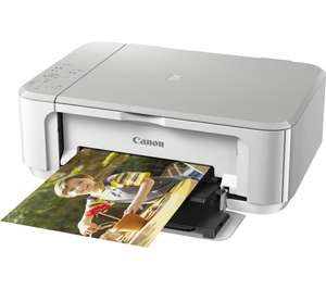 CANON PIXMA MG3650 All-in-One Wireless Inkjet Printer - White/BLACK, £27.09 w/code at currys