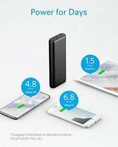 Anker PowerCore 20100 - Ultra High Capacity Power Bank with Most Powerful 4.8A Output, PowerIQ Technology £24.99 - Sold by AnkerDirect / FBA