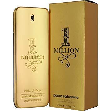 Paco Rabanne 1 Million Eau de Toilette for Men 200 ml £56.06 No Box @ perfume_shop_direct ebay