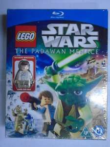 Lego Star Wars Blu-ray + Mini-Figure £2.99 / Lego Scooby Doo Haunted Hollywood (Includes Minifigure) £4.99 delivered @ amoredvd ebay