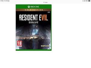 Resident evil 7 gold edition only £19.85 from simplygames
