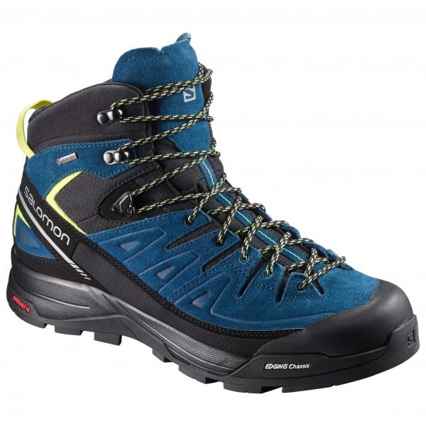 Salomon x-alp gtx mountaineering boots.