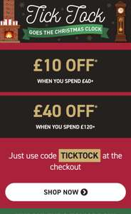 Buyagift - £40 off £120+ spend