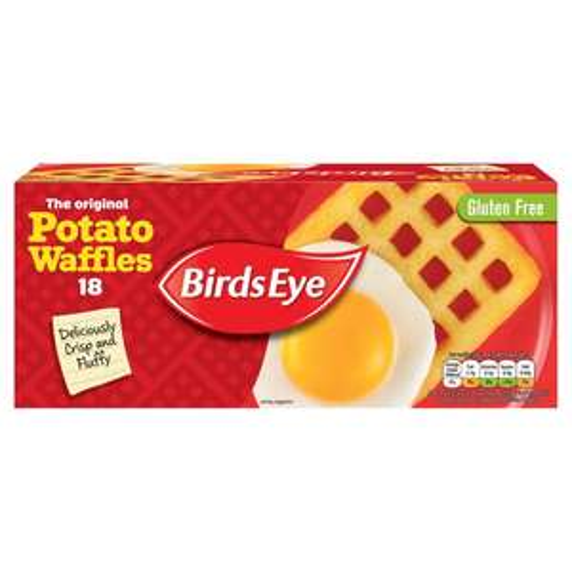 Birds eye 18 potato waffles 99p online @ morrisons