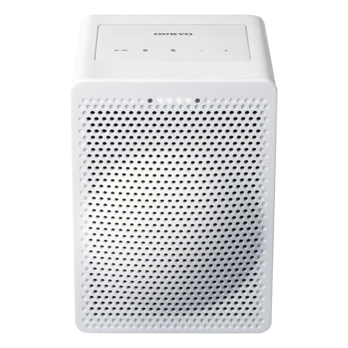 Onkyo VCGX30W Google Home Speaker - Chromecast - White