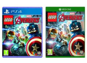 LEGO Marvel Avengers (PS4 / Xbox One) for £13.49 w/code delivered @ MyMemory