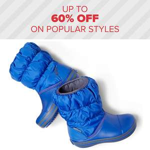 60% off at crocs sale plus free shipping on all orders (last order for Christmas 20th Dec)