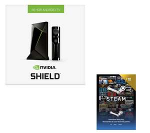 NVIDIA SHIELD 4K (16 GB) Media Streaming Device & £10 Steam Card at Currys - £141.99