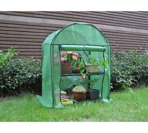 CLEARANCE 2 Tier Mini Greenhouse £9.99 Argos [ from £19.99 ]