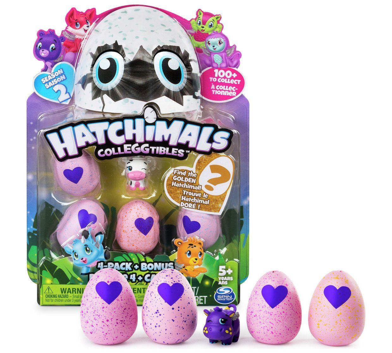 Hatchimals Colleggtibles 4 pack + Bonus @ Argos £3.99