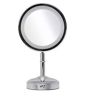 No7 Illuminated Mirror Silver at Boots for £14.99