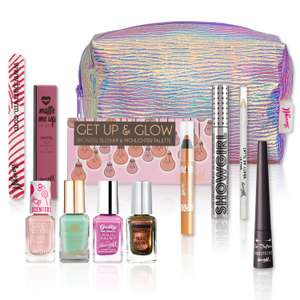 Barry M mermaid goody bag packed with heaps of make up £13.49 @ Barry M £2.50 delivery or free over £25 spend