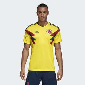 Adidas Mens FCF Colombia Home Shirt £12.99 + £4.99 delivery - more options in op @ M and M Direct