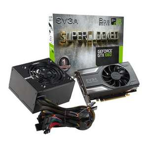 GTX 1060 6GB EVGA and a free PSU! - £199.99 / £205.48 Delivered @ Scan