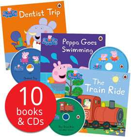 Rainbow Magic Magical Talent Fairy Collection 35 Books £16 / Peppa Pig Book and CD Collection 10 Books & Cds £12.79 Del @ Book People
