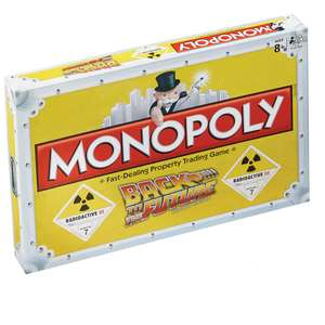Monopoly: Back to the Future Edition - £17.99 Delivered (Was £29.99) for New Customers Using WELCOME / £19.99 for Existing Customers @ Zavvi