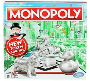 Monopoly Classic at Argos for £13.49