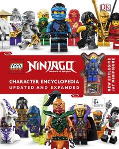 LEGO® Ninjago Character Encyclopedia Updated and Expanded: With Minifigure - 20% Off Lego at B&M - £4