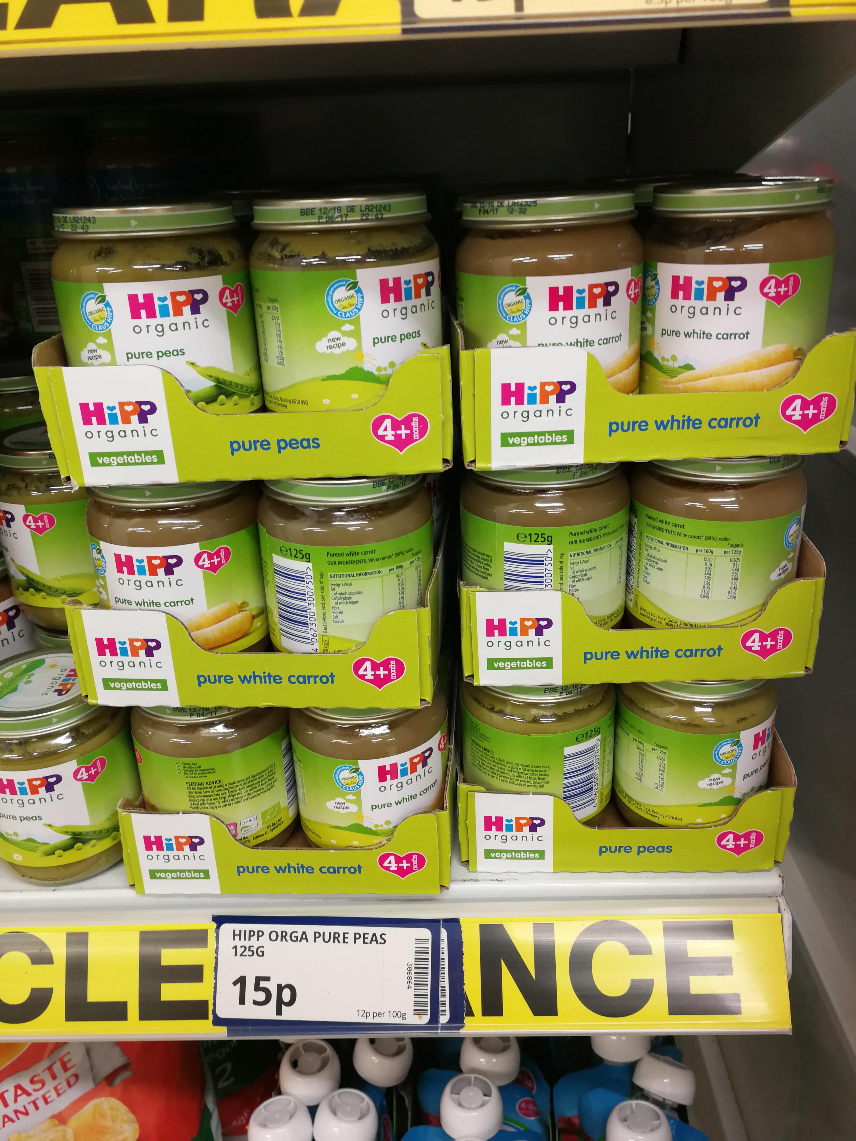 Hipp organic baby food - Poundstrecher Bedminster Bristol