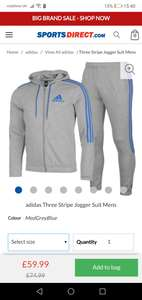 Mens Adidas tracksuit - £59.99 + £4.99 Delivery @ Sports Direct