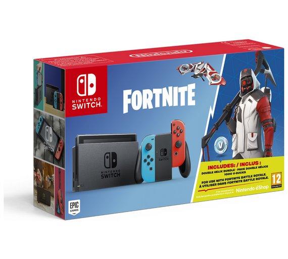 Nintendo Switch Console & Fortnite Bundle £269.99 @ Argos