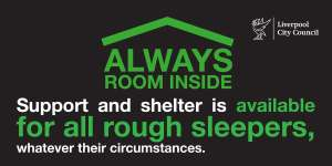 Always Room Inside, Liverpool. Support For All Rough Sleepers