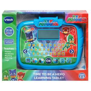 Vtech PJ Masks Time To Be a Hero Learning Tablet £18.75 @ Wilko
