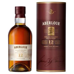 Aberlour 12 Year Old Single Malt Scotch Whisky, 70 cl @ Amazon £24.60 Delivered.