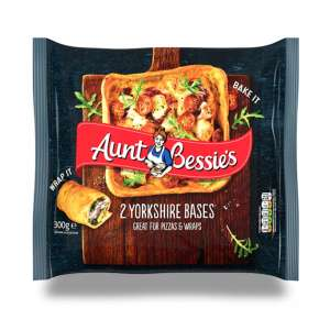 You can now buy Yorkshire Pudding Bases Ideal for Wraps or Pizza - £1.50 @ Morrisons
