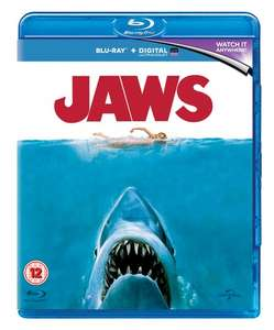 Jaws (with UltraViolet Copy) [Blu-ray] £6 delivered @ Zoom