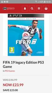 Fifa 19 ps3 @ 365games.co.uk - £23.99
